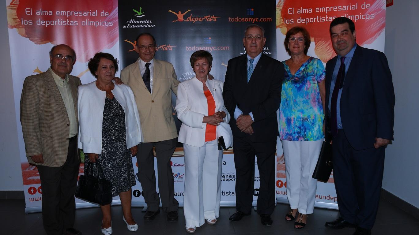 Con Julián Casas (derecha), CEO de Patrocina un Deportista.